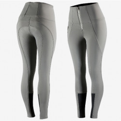 Horse Ladies Lydia Softshell Thermo Silicone Full Seat Breeches