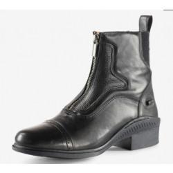 Horze Suffolk Front Zip Black Paddock Boots