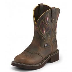 Justin Ladies Gemma Shetland Western Boots
