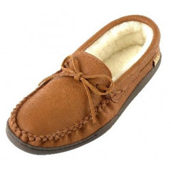 Laurentian Chief Men's Driving Padded Sole Moccasin