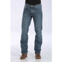 Cinch Men's Slim Fit Sliver Label Jean - Stone Wash