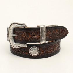 Pendleton Black Tan Belt