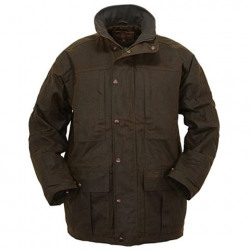 Outback Men's Deer Hunter Oilskin Jacket