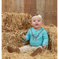 Wrangler Infant Onsie Squash Blossom Print