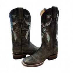 Roper Ladies Aztec Steer Boots