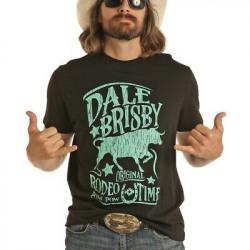 Rock & Roll Cowboy Men's Dale Brisby Rodeo Time T Shirt