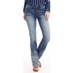 Rock & Roll Cowgirl Junior Mid Rise Vintage Jean