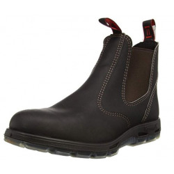 Redback Men's Dark Claret Oiled Kip Work Boot