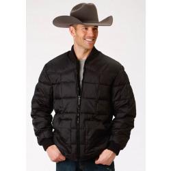 Roper Men's Black Down Jacket