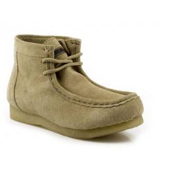 Roper Ladies Chukka Gum Sole Laced Shoes Tan