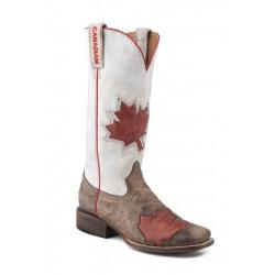 Roper Ladies Canadian Flag Cowboy Boot