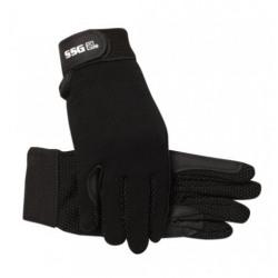 SSG Winter Gripper Riding Gloves Black