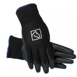 SSG Lined Barn Gloves Black