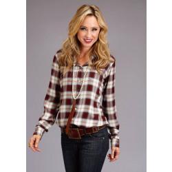 Stetson Ladies Harvest Plaid Shirt