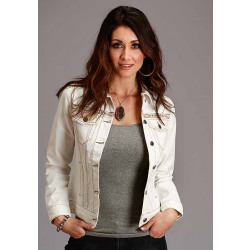 Stetson Heavy Twill Ladies Embroidered Jacket