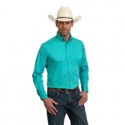 Wrangler Performance 20X Solid Teal Shirt