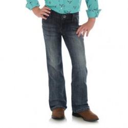Wrangler Girls Everyday Mid Rise Medium Wash Jean