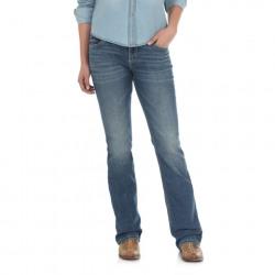 Wrangler Ladies Retro Mae Mid Rise Deadwood Jean