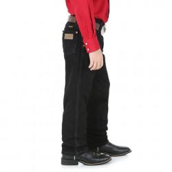 Wrangler Boys Size 8 To 18 Cowboy Cut® Original Fit Jeans Black