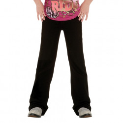 Wrangler Size 7  to 14 Girls Q Baby Ultimate Riding Black Jean