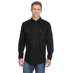 Wrangler Advance Comfort Work Shirt Black