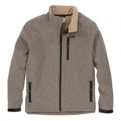 Wrangler Men's Outdoor Heather Tan Trail Jacket
