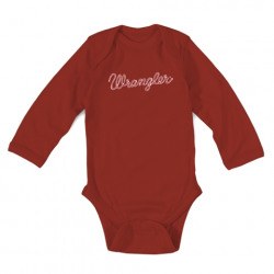 Wrangler Baby Red Bodysuit