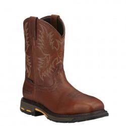 Ariat Men's Work Hog Wide Square Toe CSA Waterproof Composite Toe Western Boot