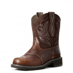 Ariat Ladies Fatbaby Heritage Dapper Copper Kettle Western Boot