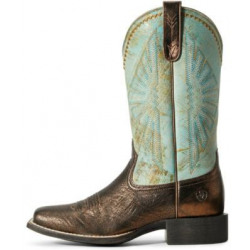 Ariat Ladies Dark Bronze Jade Round Up Rio Boots