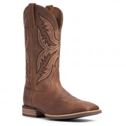 Ariat Men's Everlite Fast Time Distressed Brown Western Boot