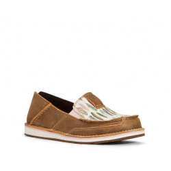 Ariat Ladies Brown Feather Cruiser Shoes