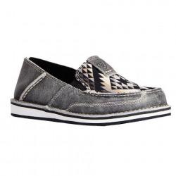 Ariat Ladies Titanum Black Aztec Cruiser Shoe