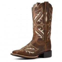 Ariat Ladies Bliss Sassy Brown Round Up Western Boots