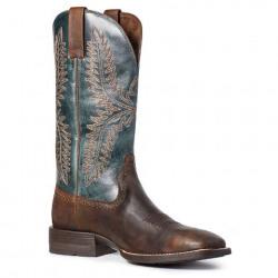 Ariat Men's Caprock Taylor Tan Pond Western Boots