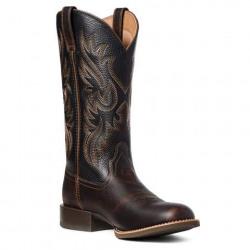 Ariat Men's Sport Doolin Dark Sparrow Black Western Boots