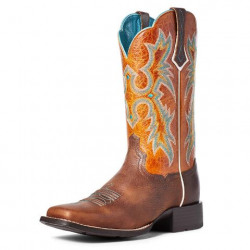 Ariat Ladies Hickory Marigold Tombstone Cowboy Boots