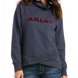 Ariat Ladies Crossover Sweatshirt India Ink