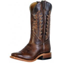 Boulet Ladies Moka Vintage Square Toe Cowboy Boots