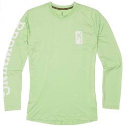 Browning Ladies Long Sleeve Neon Mint Shirt