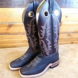 Canada West Ladies Brown Bullhide Western Boots