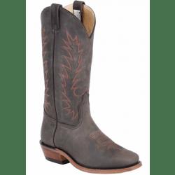 Canada West Men's Brahma Crazy Sepia Western Boots