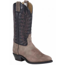 Canada West Men's Dark Farmer Crazy Cowboy Boots