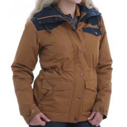 Cinch Ladies Brown Navy Barn Jacket