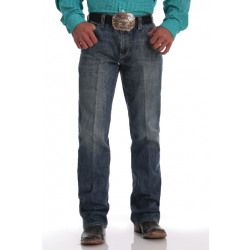 Cinch Men's Relaxed Fit Carter 2.0 Medium Stonewash Jean