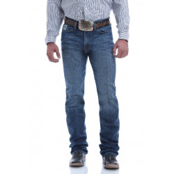 Cinch Men's Slim Fit Silver Label August Medium Stonewash Jean