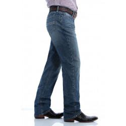 Cinch Men's Slim Fit Silver Label Medium Stonewash Flex Jeans