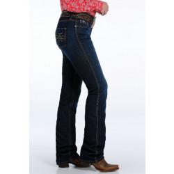 Cinch Ladies Shannon Slim Fit Moderate Rise Straight Leg Jean