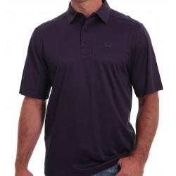 Cinch Men's Arenaflex Purple Polo Shirt