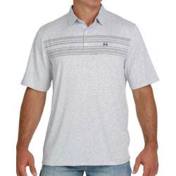 Cinch Arena Flex Polo Grey T Shirt